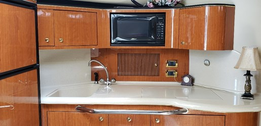 2001 Sea Ray boat for sale, model of the boat is 380 Sundancer M/C & Image # 11 of 19