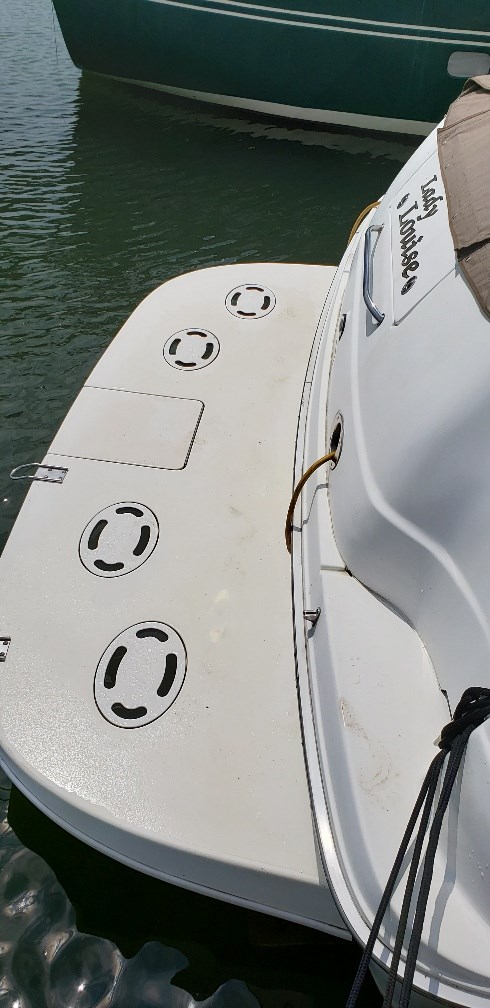 2001 Sea Ray boat for sale, model of the boat is 380 Sundancer M/C & Image # 3 of 19