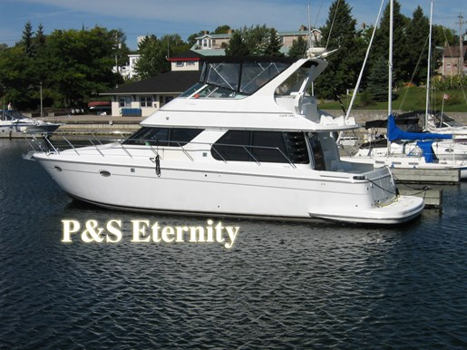 1999 Carver Voyager 450 - Pilothouse Photo 32 of 34
