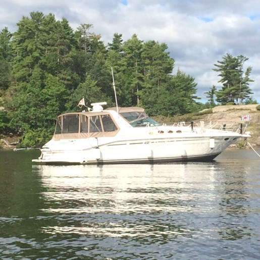 1996 Sea Ray boat for sale, model of the boat is 400 Express & Image # 4 of 22