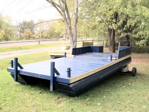 Steel Pontoon Barge Steel Pontoon Barge 2017 New Boat for