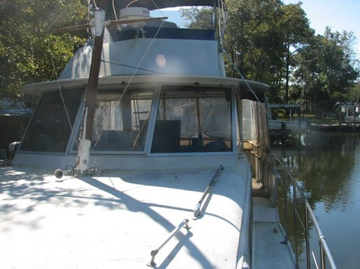 Hatteras 1968 used boat for sale in panama city florida for Used boat motors panama city fl