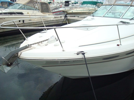 1999 Sea Ray boat for sale, model of the boat is 290 Sundancer & Image # 3 of 16