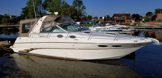 1999 Sea Ray boat for sale, model of the boat is 290 Sundancer & Image # 1 of 16