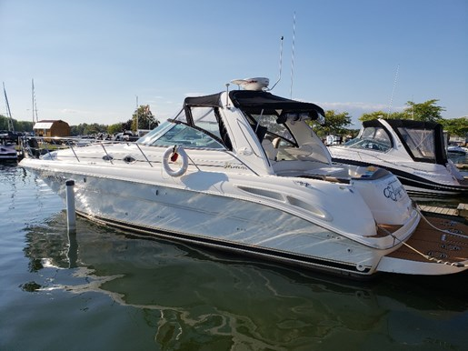 2000 Sea Ray boat for sale, model of the boat is 410 Sundancer & Image # 1 of 20