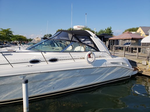 2000 Sea Ray boat for sale, model of the boat is 410 Sundancer & Image # 2 of 20