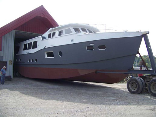 2013 Custom Boat Mfg Dovercraft Trawler Photo 3 of 15