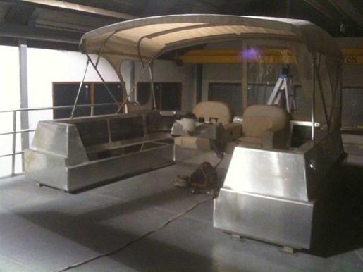 2013 Custom Boat Mfg Dovercraft Trawler Photo 7 of 15