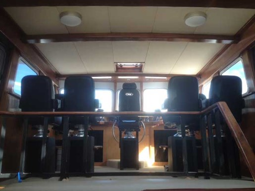 2013 Custom Boat Mfg Dovercraft Trawler Photo 9 of 15