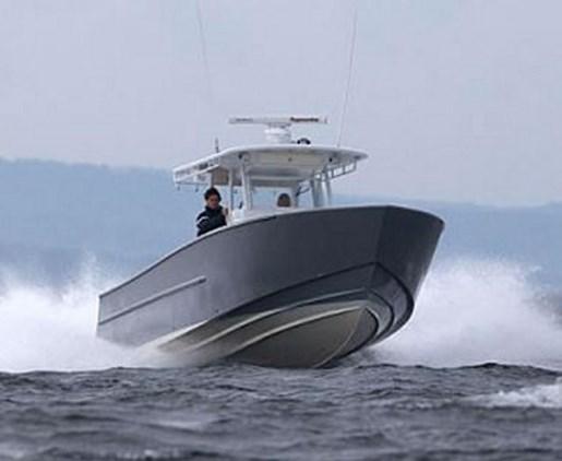 Rock Salt Aluminum Alloy Fishing Boat 34 X 10 Fishing