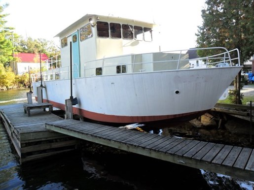1980 Custom Built Steel River Boat/Charter Yacht Photo 1 of 6