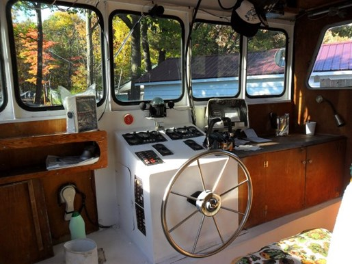 1980 Custom Built Steel River Boat/Charter Yacht Photo 6 of 6