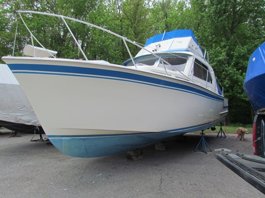 1965 Hatteras Sport Fish Fly Bridge