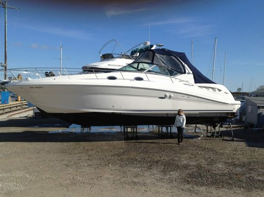 2004 Sea Ray boat for sale, model of the boat is 340 Sundancer & Image # 1 of 4