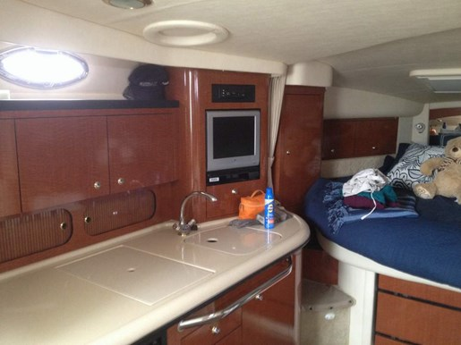 2004 Sea Ray boat for sale, model of the boat is 340 Sundancer & Image # 3 of 4