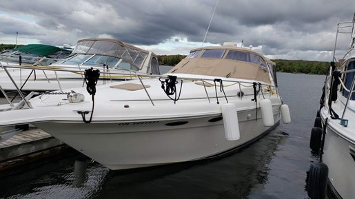 1997 Sea Ray boat for sale, model of the boat is 330 Sundancer M/C & Image # 1 of 15