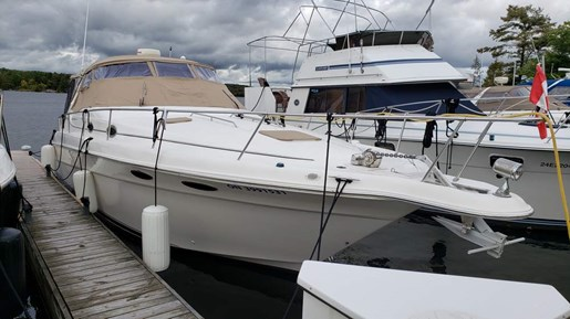 1997 Sea Ray boat for sale, model of the boat is 330 Sundancer M/C & Image # 2 of 15