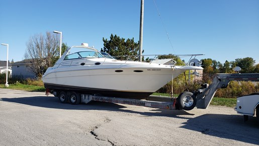 1997 Sea Ray boat for sale, model of the boat is 330 Sundancer M/C & Image # 3 of 15