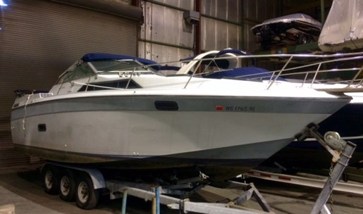 Regal 277 xlcommodore 1983 used boat for sale in pewaukee for Used outboard motors for sale wisconsin