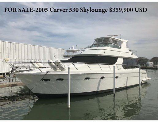 2005 Carver 530 Voyager Skylounge Photo 1 of 92