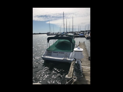 1999 Sea Ray boat for sale, model of the boat is 215 Express Cruiser & Image # 3 of 6