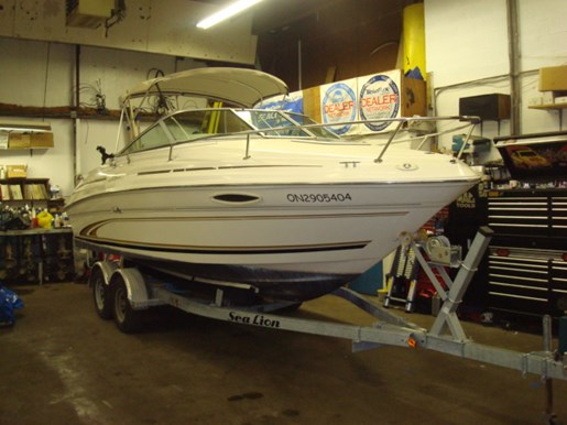 2000 Sea Ray 215 Weekender for sale