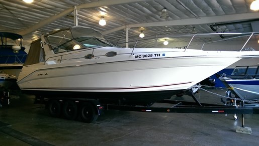 Sea Ray 290 SUNDANCER 1996 Used Boat for Sale in Bay City, Michigan -  BoatDealers ca