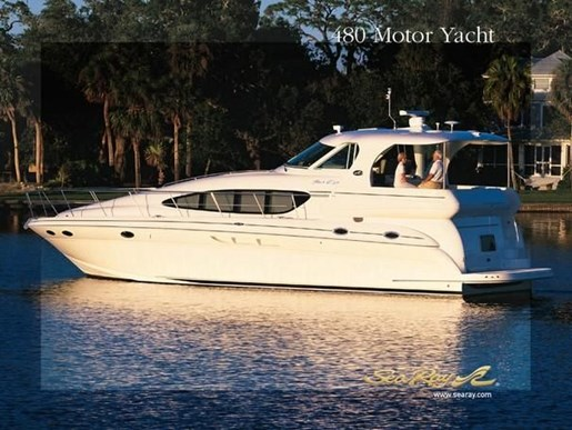 Sea ray 480 motor yacht 2003 used boat for sale in toronto for Sea ray boat motors