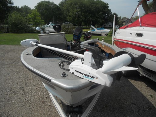 Smoker craft 161 mag 1991 used boat for sale in oshkosh for Used outboard motors for sale wisconsin