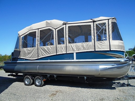 For Sale: 2016 Premier Pontoons 250 Alante Ptx Camper Pp143 25ft<br/>Pirate Cove Marina