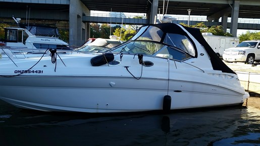 2003 Sea Ray boat for sale, model of the boat is 320 Sundancer & Image # 2 of 16