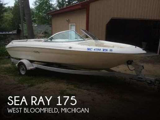 Sea ray 1998 used boat for sale in west bloomfield michigan for Outboard motors for sale in michigan
