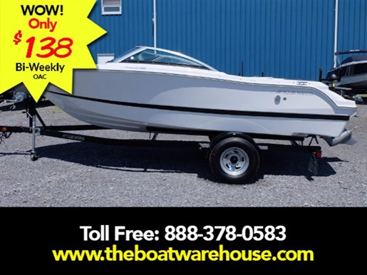 2016 Four Winns Freedom 190 Volvo 200HP Trailer Photo 1 of 22