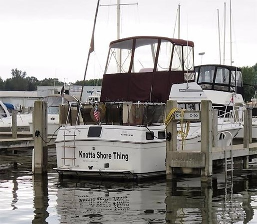 Carver 3207 Aft Cabin Motor Yacht 1989 Used Boat For Sale