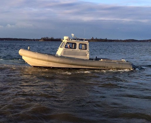 Aluminum Zodiac Security/Work Boat Aluminum Boat 2003 Used Boat for Sale in  Anytown, New York - BoatDealers ca