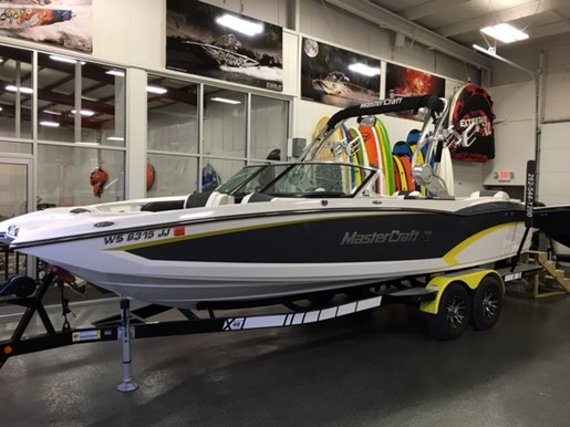 Mastercraft x46 2015 used boat for sale in pewaukee wisconsin for Used outboard motors for sale wisconsin