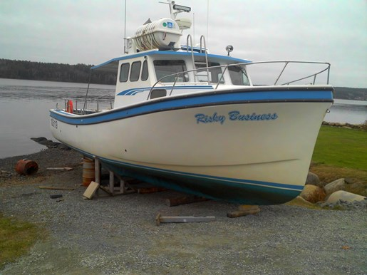Northumberland Strait Lobster/Passenger 2003 Used Boat for Sale in Block House, Nova Scotia ...