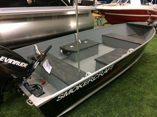 2016 Smoker Craft 14' Big Fish Tiller Photo 4 of 6