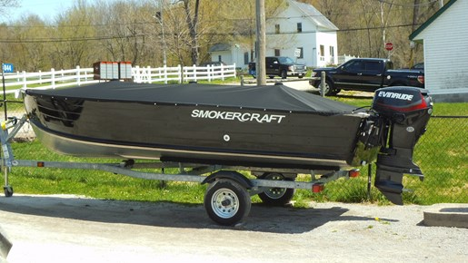 Smokercraft 16 39 big fish tiller 2016 new boat for sale in for Big fish screen printing