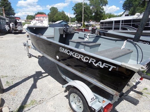2016 smoker craft 14 39 big fish side console boat for sale for 14 ft fishing boat