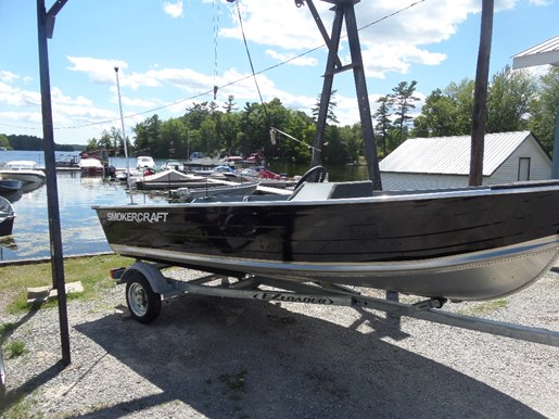 Sold Smoker Craft Sold 14 Big Fish Side Console