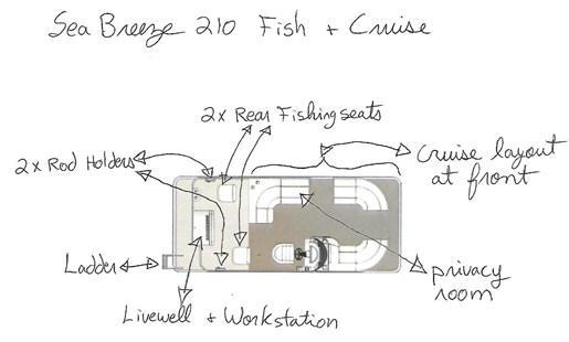 2016 Cypress Cay SeaBreeze 210 (Fish & Cruise Floorplan) (125) Photo 18 of 18