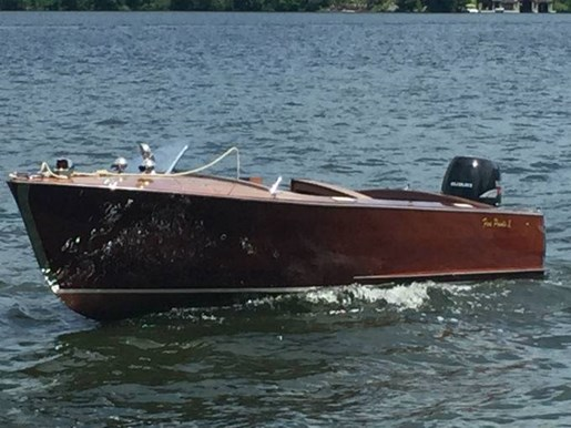 1953 WOOD BOAT - Photo 1 of 7