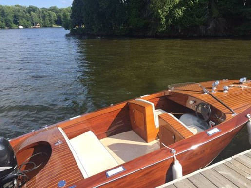 1953 WOOD BOAT - Photo 2 of 7