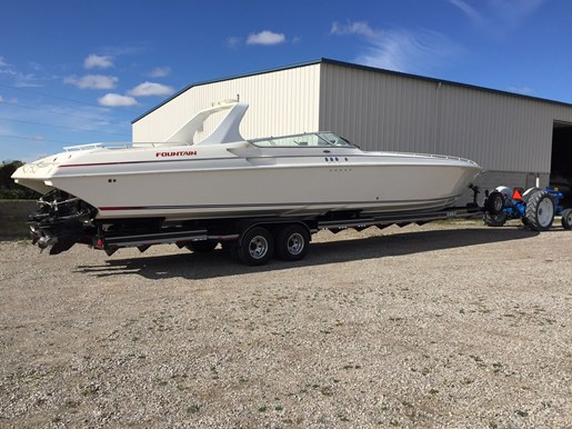 fountain 47 lightning 1997 used boat for sale in chatham ontario