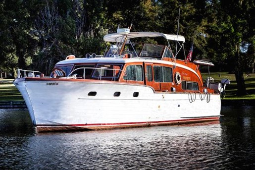 Chris Craft Flybridge Motor Yacht 1953 Used Boat For Sale