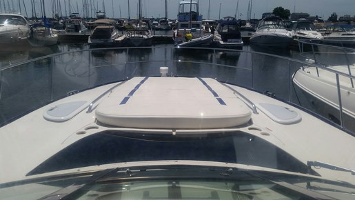 2013 Monterey boat for sale, model of the boat is 400 SY & Image # 6 of 31