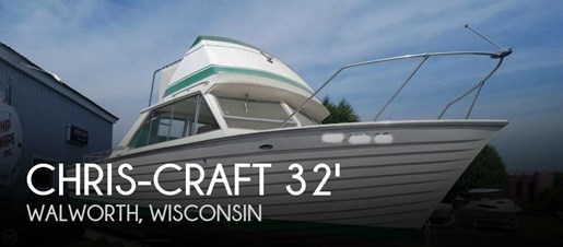 1967 Chris-Craft Sea Skiff 32 Sports Cruiser Photo 1 of 20