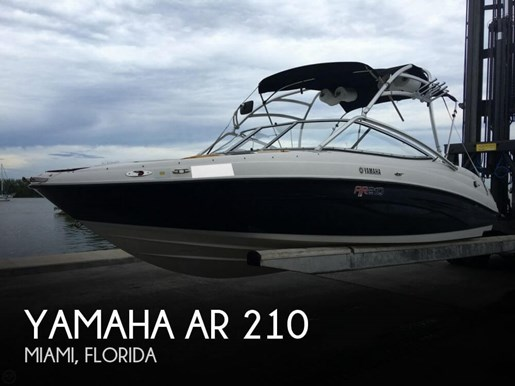 yamaha 2007 used boat for sale in miami florida