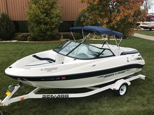 Sea ark 185 utopia 2003 used boat for sale in sturgeon bay for Used outboard motors for sale wisconsin